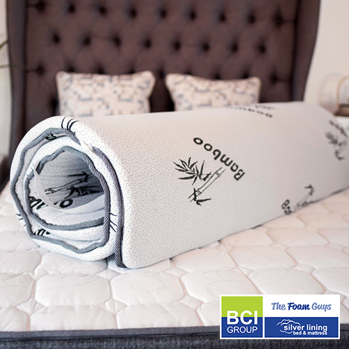Family Furniture | Silver Lining Mattress Topper | Various Sizes - Single/ Three Quarter/ Double/ Queen/ King Size Mattress