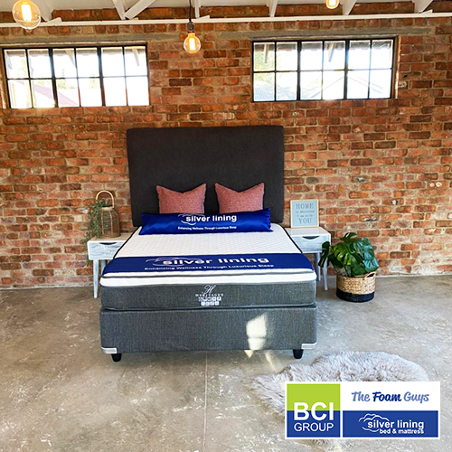 Family Furniture | Silver Lining Heritage II Mattress + Base | Various Sizes - Single/ Three Quarter/ Double/ Queen/ King Size Mattress